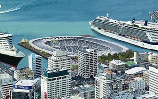 New Zealand: World's first underwater stadium?