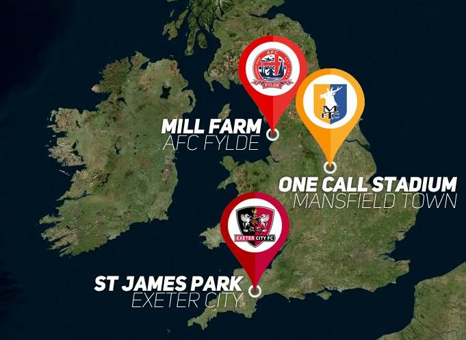 English stadiums