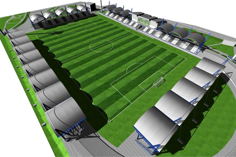 Stadion w Nowym Sączu