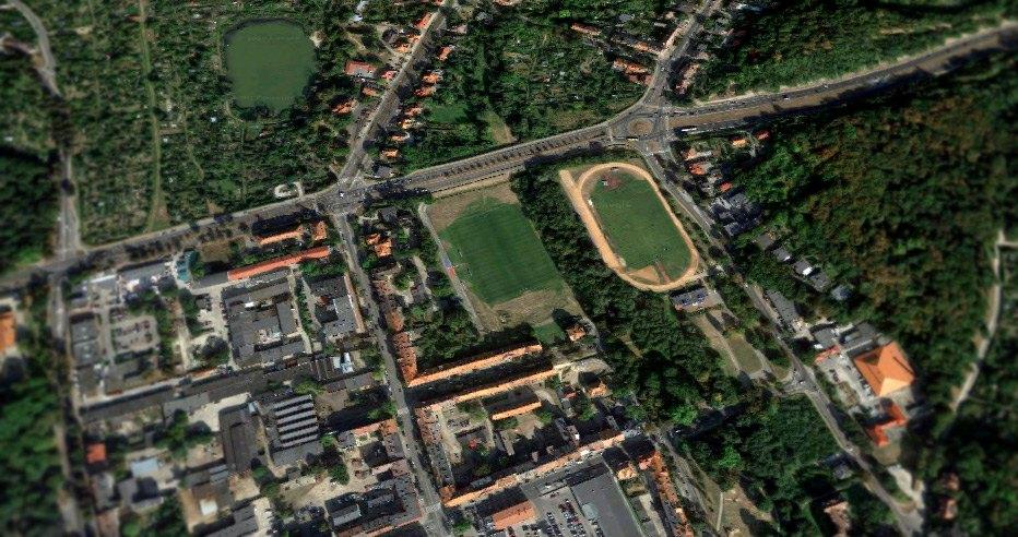 Stadion lekkoatletyczny w Gorzowie