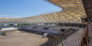 New construction: Haladás Stadion