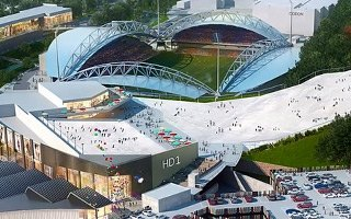 England: Huddersfield stadium to get... a ski slope