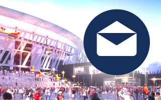 StadiumDB Newsletter: A week's news in your mailbox
