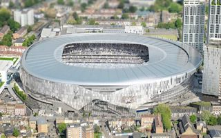 London: Tottenham's roof should be ready in early 2018