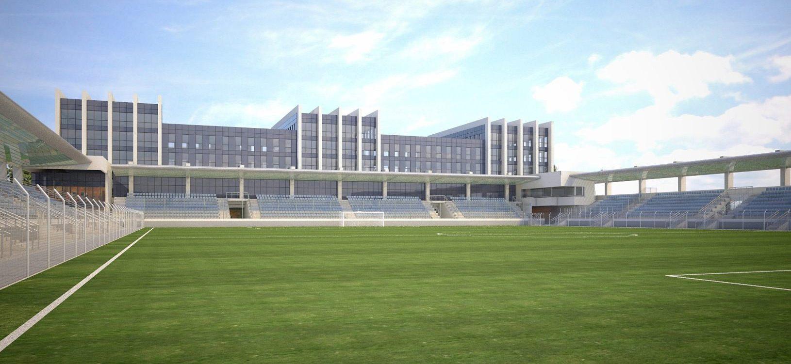 Stadion Garbarni przy Rydlówka 23