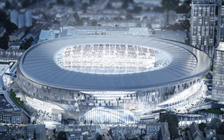 London: Hewlett Packard to boost Tottenham stadium's technology