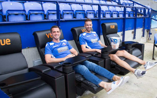 Bolton: Luxury recliner seats for selected fans