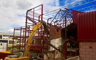 New construction: See now how Tynecastle is growing