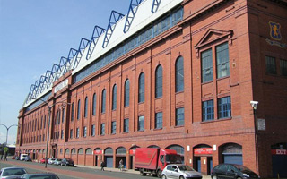 Glasgow: Nightclub in east stand of Ibrox?