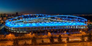 New stadium: In Iran it's a gem