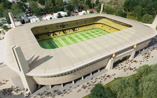 Athens: AEK break ground in Nea Philadelphia!