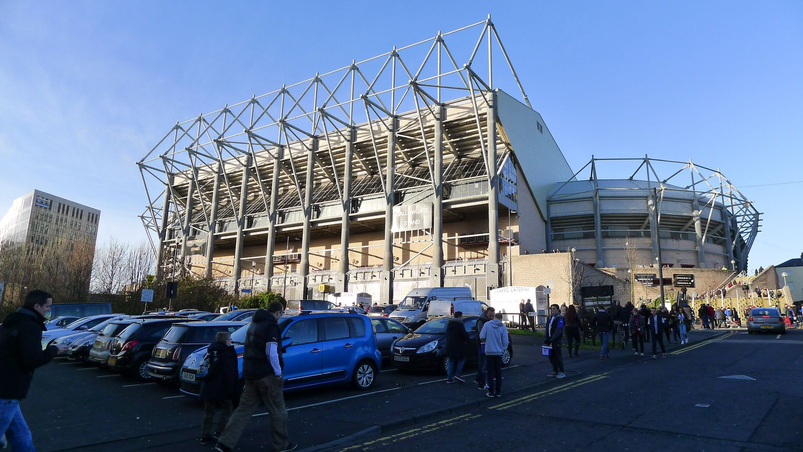 Newcastle United St. James Park