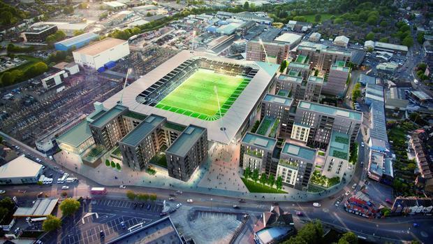 AFC Wimbledon stadium