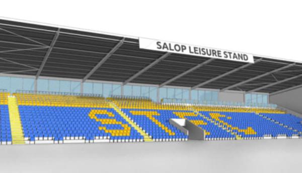 Shrewsbury Town FC stadium
