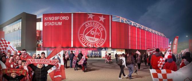 Aberdeen Kingsford Stadium