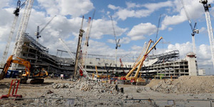 London: White Hart Lane out, safe standing in