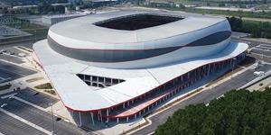 New stadium: Change of shift in Samsun