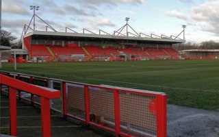 New stadiums: Crawley, Southport, Ashton and Matlock added