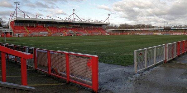 New stadiums: Crawley, Southport, Ashton and Matlock added