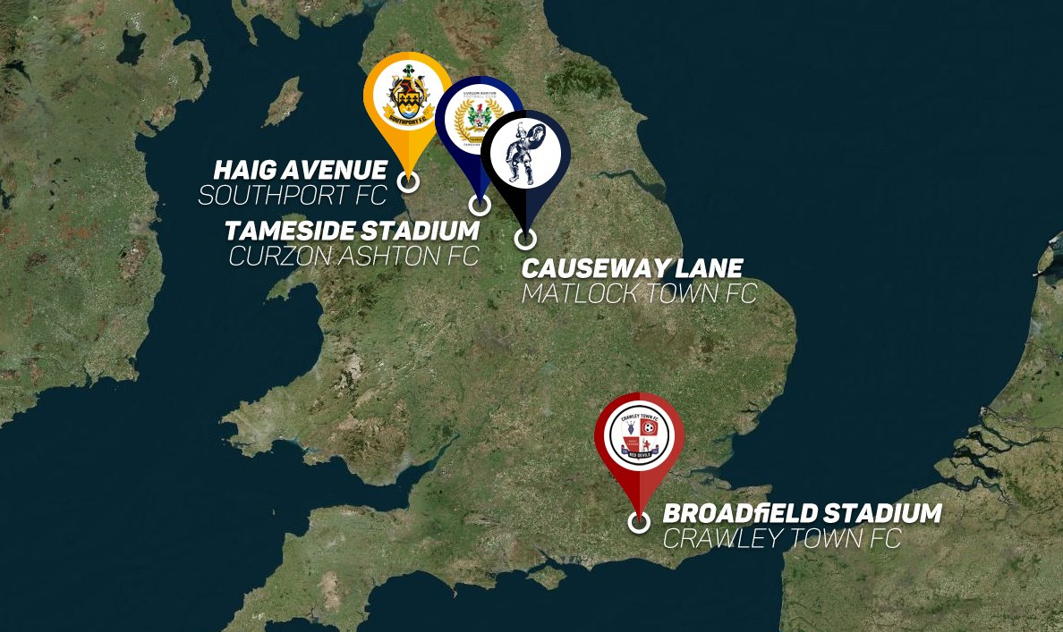 England - new stadiums
