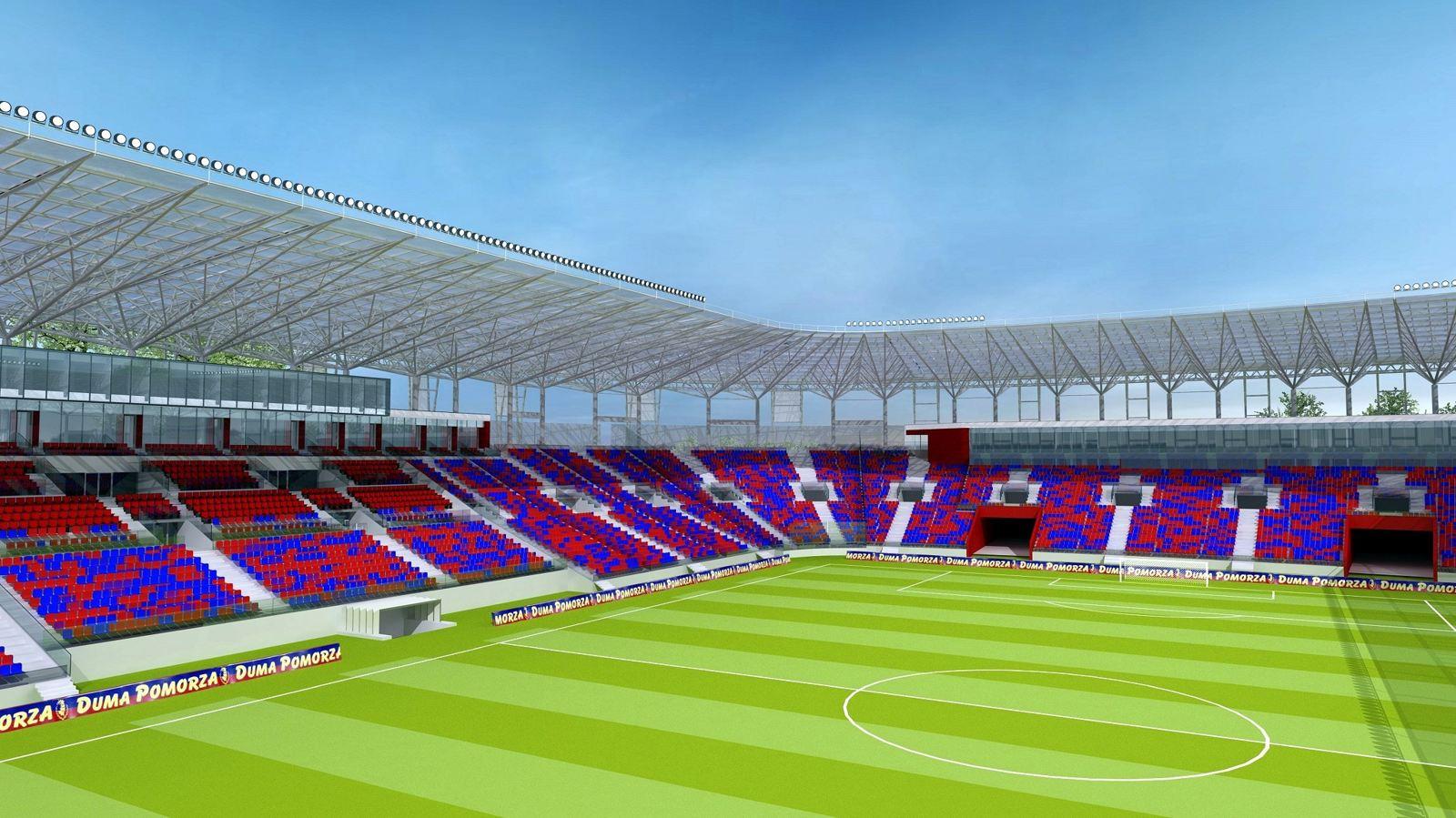 Stadion w Szczecinie