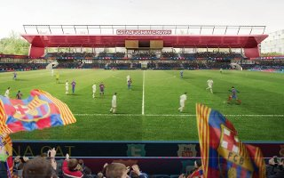 Barcelona: Groundbreaking at Estadi Johan Cruyff