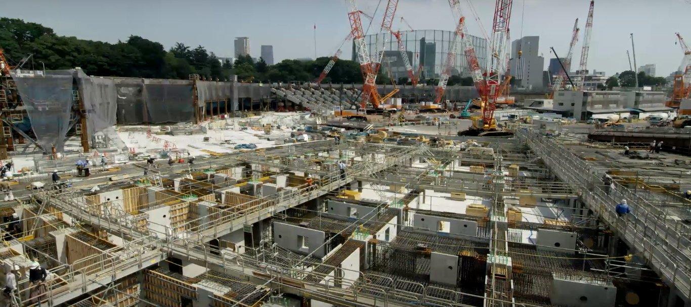 Tokyo National Olympic Stadium