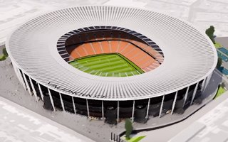 Valencia: Smaller and more slender new Mestalla