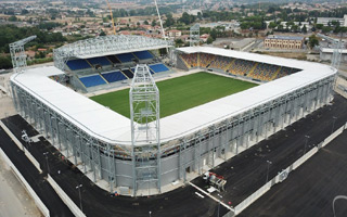 Italy: That's some temporary stadium!