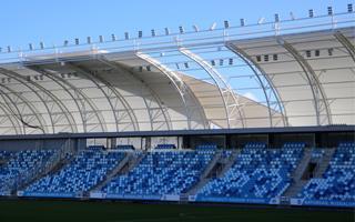 Budapest: Storm Herwart didn't spare MTK stadium
