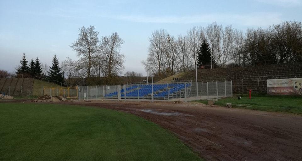 Stadion w Koszalinie