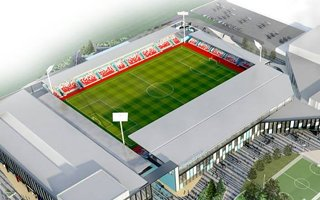 England: York Community Stadium officially under construction
