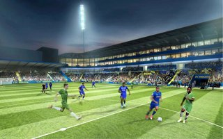 London: Wimbledon celebrate stadium agreement signing