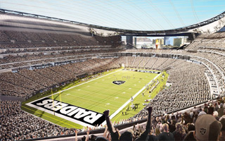 Las Vegas: Raiders to foot (a bit of) the infrastructure bill