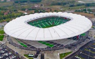 New stadium: The dancing canopy from Sakarya