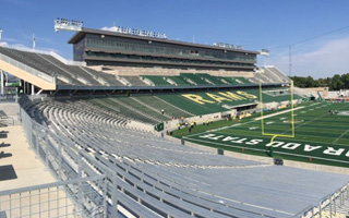 New stadium: Colorado State's sandstone-covered home