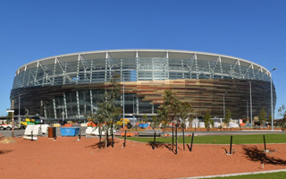 New stadium: Optus Stadium, Australia's new leader