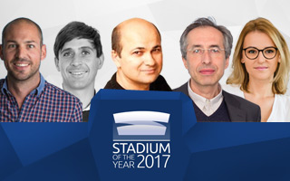 Stadium of the Year 2017: Jury Award finalist announcement on Monday