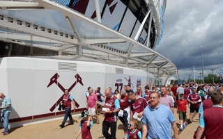 London: West Ham see record profit at London Stadium