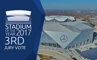 Stadium of the Year 2017: Jury Vote 3rd Place – Mercedes-Benz Stadium