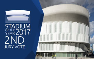 Stadium of the Year 2017: Jury Vote 2nd Place – U Arena