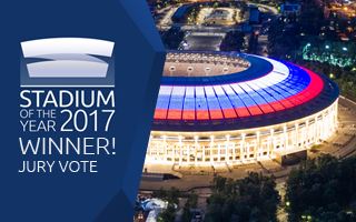 Stadium of the Year 2017: Jury Award winner – Luzhniki!