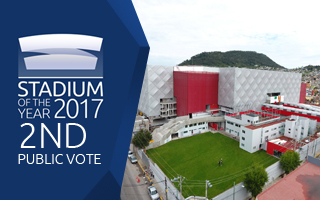 Stadium of the Year 2017: Public Vote 2nd Place – La Bombonera de Toluca!