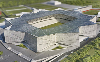 New design: The stellar stadium for Steaua
