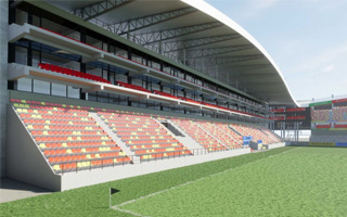 Belgium: Preparations for new stand in Mechelen