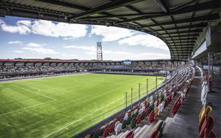 New stadiums: Three from Superliga