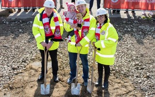 London: Here's how you do groundbreaking ceremonies