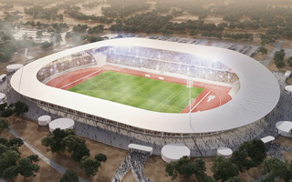 New design: Stade de Yamoussoukro for AFCON 2021