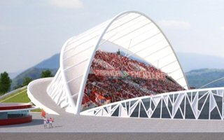 New design: Estadio Nicolás Chahuán Nazar