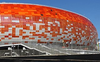 Russia 2018: Penultimate stadium ready for use